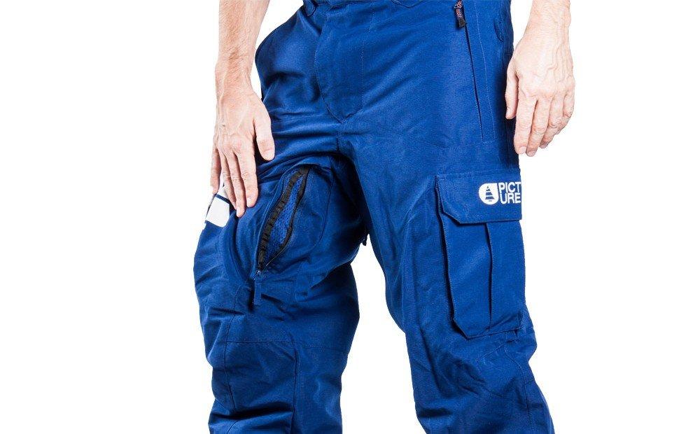 esempio ventilazione per pantaloni da sci