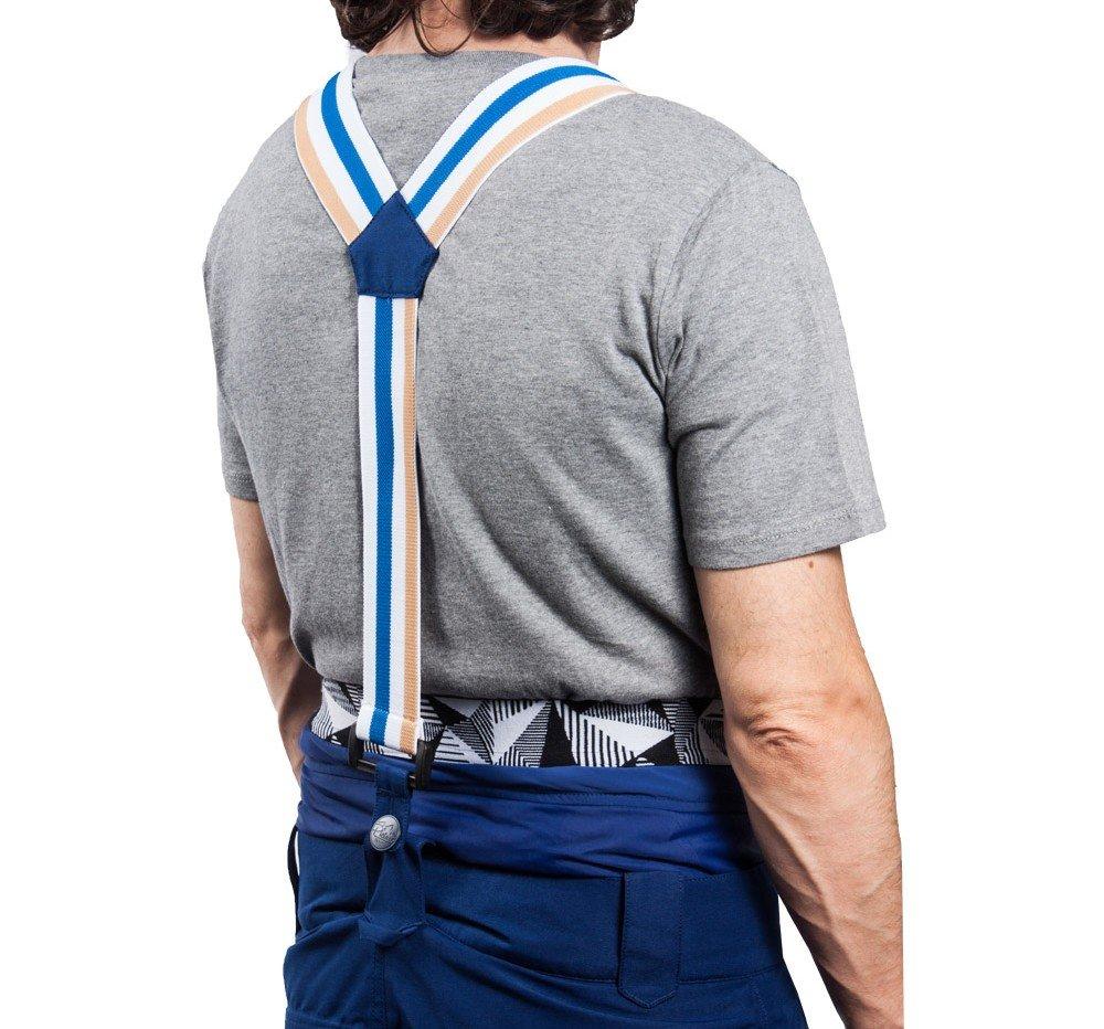 esempio bretelle per pantaloni da sci
