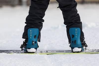classico attacco da snowboard